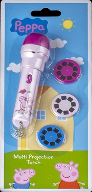 Peppa Pig - Projection Torch with 3 Discs