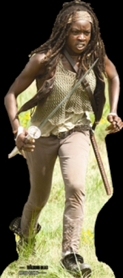 Michonne Cardboard Cutout | Collectable