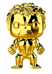 Marvel Studios 10th Anniversary - Hulk Gold Chrome Pop! Vinyl