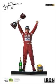 Ayrton Senna - 1:10 Scale Statue