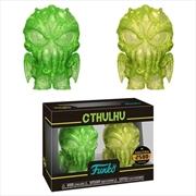 HP Lovecraft - Cthulhu (Yellow & Green) XS Hikari 2-pack | Merchandise