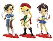 "Street Fighter - 7"" Knock-Outs Vinyl Statue series 01 Assortment"