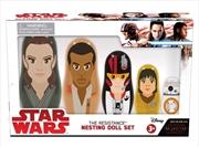 Star Wars - Resistance Episode VIII The Last Jedi Nesting Dolls | Merchandise