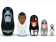 Star Wars - Episode VII The Force Awakens Nesting Dolls Set | Merchandise