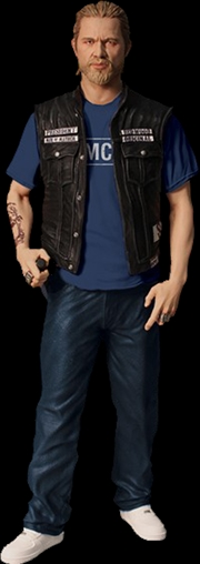 "Sons of Anarchy - Jax (SAMCRO Shirt) 6"" Action Figure"