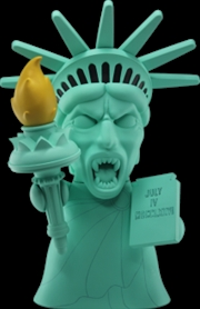 Doctor Who - Titans 8 Inch Statue of Liberty Angel Vinyl Statue   Merchandise
