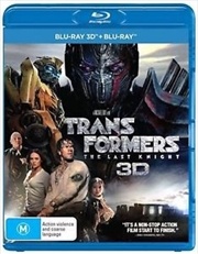 Transformers - The Last Knight | Blu-ray 3D
