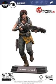 "Gears of War 4 - Kait Diaz 7"" Action Figure | Merchandise"