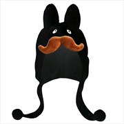 Kozik - Stache Labbit Black Hat | Apparel