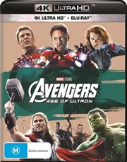 Avengers - Age Of Ultron | Blu-ray + UHD