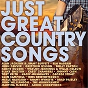 Just Great Country Songs | CD