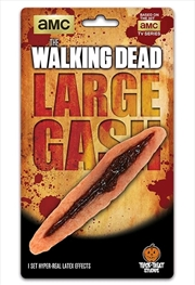 The Walking Dead - Large Gash Appliance | Apparel