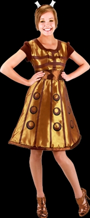 Doctor Who - Dalek Costume Dress L/XL   Apparel