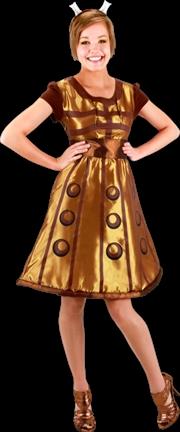 Doctor Who - Dalek Costume Dress S/M   Apparel