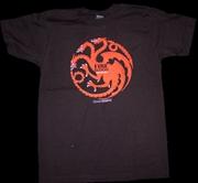 Game of Thrones - Targaryen Male T-Shirt XXL
