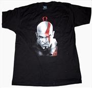 God of War - Kratos & Omega Symbol T-Shirt L | Apparel