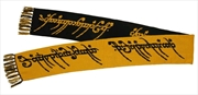 The Lord of the Rings - The One Ring 6-foot Knit Scarf | Apparel