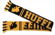 Harry Potter - Hufflepuff Reversible Knit Scarf | Apparel