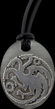 Game of Thrones - Targaryen Pendant | Apparel