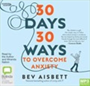 30 Days 30 Ways To Overcome Anxiety | Audio Book