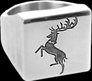 Game of Thrones - Baratheon Ring Size 7 | Apparel