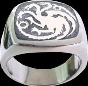 Game of Thrones - Targaryen Ring Size 10 | Apparel