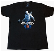 Assassin's Creed 3 - Connor & Logo T-Shirt L | Apparel