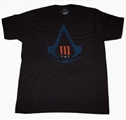 Assassin's Creed 3 - Distressed Logo T-Shirt L | Apparel