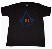 Assassin's Creed 3 - Distressed Logo T-Shirt XXL
