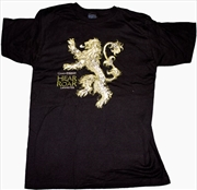 Game of Thrones - Lannister Male T-Shirt L | Apparel