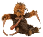 Star Wars - Chewbacca with Porg Backpack | Apparel