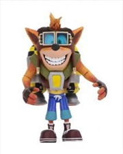 "Crash Bandicoot - Crash with Jetpack 7"" Deluxe Action Figure 