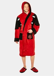 Deadpool - Fleece Bathrobe