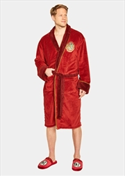 Harry Potter - Platform 9 3/4 Fleece Bathrobe | Miscellaneous