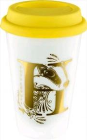 Hufflepuff Foil Logo Keep Cup | Merchandise
