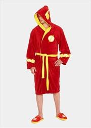 Flash - Flash Hooded Fleece Bathrobe | Miscellaneous
