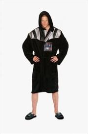 Star Wars - Darth Vader Chest Plate Fleece Bathrobe