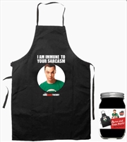 The Big Bang Theory - Sheldon Apron & Oven Mit Set | Merchandise