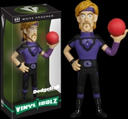 Dodgeball - White Goodman Vinyl Idolz | Merchandise