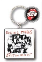 The Rolling Stones - KeyRing Exile On Main Street | Accessories