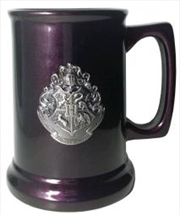 Harry Potter - Hogwarts / Deathly Hallows Metallic Crest Tankard | Merchandise