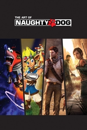Naughty Dog - The Art of Naughty Dog Book