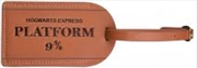 Harry Potter - Platform 9 3/4 Leather Luggage Tag
