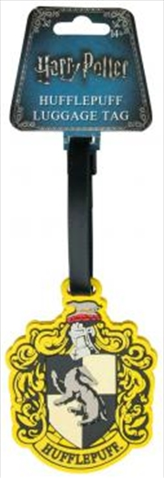 Harry Potter - HufflePuff Luggage Tag | Miscellaneous