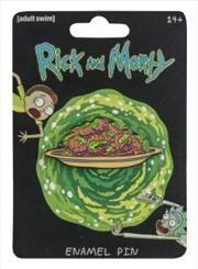 Rick and Morty - Eyeball Holes Enamel Pin