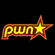Pownstar Sticker