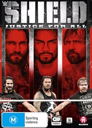 WWE - The Shield - Justice For All | DVD