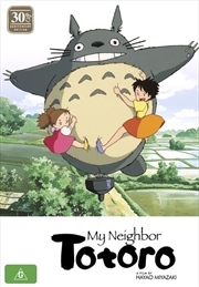 My Neighbor Totoro - 30th Anniversary Edition | Blu-ray + DVD - With Artbook
