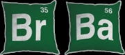 Breaking Bad - Br Ba Logo Plush Pillow Assortment