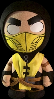 "Mortal Kombat - Scorpion 8"" Plush 